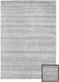 Bamboo Grass - Grey Rug 160X230 Modern Light Grey (Wool/Bamboo Silk, Turkey)