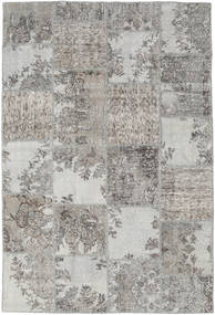 Patchwork Rug 157X234 Authentic  Modern Handknotted Light Grey/Dark Grey (Wool, Turkey)