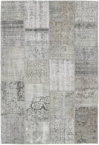 Patchwork Rug 157X232 Authentic  Modern Handknotted Light Grey/Dark Grey (Wool, Turkey)