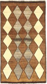 Gabbeh (Persja) Dywan 102X184 Nowoczesny Tkany Ręcznie Brązowy/Jasnobrązowy (Wełna, Persja/Iran)