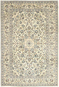 Keshan Rug 240X354 Authentic  Oriental Handknotted Beige/Light Grey (Wool, Persia/Iran)