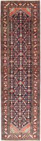 ハマダン 絨毯 113X420 オリエンタル 手織り 廊下 カーペット 深紅色の/濃い茶色 (ウール, ペルシャ/イラン)