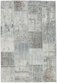 Patchwork Rug 156X233 Authentic  Modern Handknotted Light Grey (Wool, Turkey)