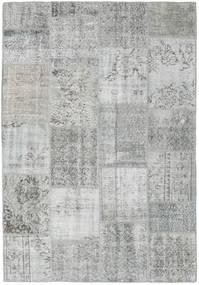パッチワーク 絨毯 158X231 モダン 手織り 薄い灰色 (ウール, トルコ)