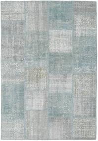 Patchwork Rug 160X231 Authentic Modern Handknotted Light Grey (Wool, Turkey)