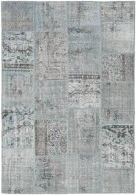 パッチワーク 絨毯 157X231 モダン 手織り 薄い灰色 (ウール, トルコ)