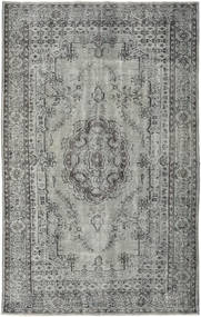 Colored Vintage Rug 182X299 Authentic  Modern Handknotted Light Grey/Dark Grey (Wool, Turkey)