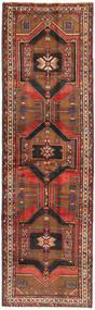 Sarab Rug 120X407 Authentic Oriental Handknotted Hallway Runner Dark Brown/Dark Red/Rust Red (Wool, Persia/Iran)