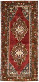 Colored Vintage Rug 122X262 Authentic  Modern Handknotted Dark Red/Dark Brown/Light Brown (Wool, Turkey)