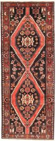 Saveh Tæppe 127X330 Ægte Orientalsk Håndknyttet Tæppeløber Mørkebrun/Brun (Uld, Persien/Iran)