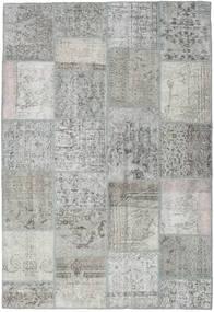 Лоскутные Ковер 159X233 Современный Ковры Ручной Работы Светло-Серый (Шерсть, Турция)