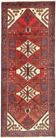 Saveh Alfombra 116X294 Oriental Hecha A Mano Marrón/Rojo Oscuro (Lana, Persia/Irán)