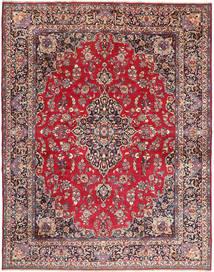 Mashad Rug 293X380 Authentic  Oriental Handknotted Dark Brown/Crimson Red Large (Wool, Persia/Iran)