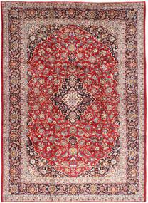 Keshan Rug 245X336 Authentic  Oriental Handknotted Dark Red/Light Brown (Wool, Persia/Iran)