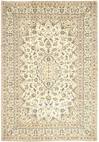 Keshan Rug 243X346 Authentic  Oriental Handknotted Beige/Light Brown (Wool, Persia/Iran)