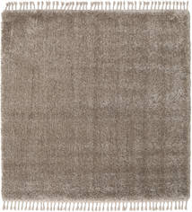 Boho - Taupe Rug 200X200 Modern Square Light Grey/Brown ( Turkey)