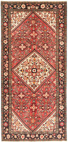 Hosseinabad Rug 153X325 Authentic  Oriental Handknotted Light Brown/Dark Brown (Wool, Persia/Iran)