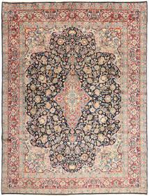 Kerman Matto 277X368 Itämainen Käsinsolmittu Vaaleanharmaa/Tummanbeige Isot (Villa, Persia/Iran)