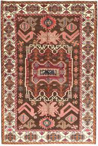Lori Alfombra 160X245 Oriental Hecha A Mano Marrón Oscuro/Rojo Oscuro (Lana, Persia/Irán)