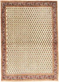 Sarough Mir Tapis 102X142 D'orient Fait Main Beige/Marron (Laine, Perse/Iran)