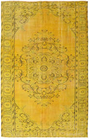 Colored Vintage Rug 172X269 Authentic  Modern Handknotted Yellow (Wool, Turkey)