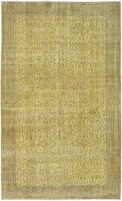 Colored Vintage Tapete 161X274 Moderno Feito A Mão Verde Azeitona/Verde Claro (Lã, Turquia)