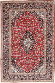 Keshan Rug 203X302 Authentic  Oriental Handknotted Dark Purple/Rust Red (Wool, Persia/Iran)