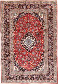 Keshan Rug 250X360 Authentic  Oriental Handknotted Brown/Dark Purple Large (Wool, Persia/Iran)