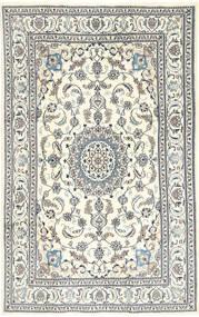 Nain Rug 195X303 Authentic  Oriental Handknotted Beige/Light Grey/Dark Grey (Wool, Persia/Iran)