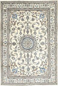 Nain Matto 195X292 Itämainen Käsinsolmittu Beige/Vaaleanharmaa (Villa, Persia/Iran)