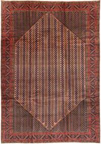 Koliai Teppich  200X288 Echter Orientalischer Handgeknüpfter Braun/Dunkelrot (Wolle, Persien/Iran)