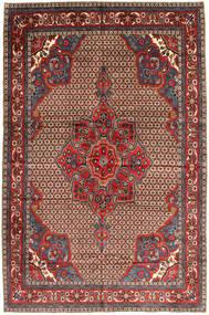 Koliai Teppe 205X300 Ekte Orientalsk Håndknyttet Mørk Rød/Mørk Brun (Ull, Persia/Iran)