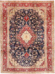 Hamadan Shahrbaf Matta 210X287 Äkta Orientalisk Handknuten Mörklila/Brun (Ull, Persien/Iran)