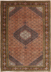 Ardebil Rug 193X277 Authentic  Oriental Handknotted Dark Brown/Light Brown (Wool, Persia/Iran)