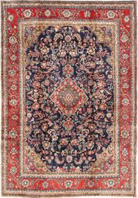 Hamadan Shahrbaf Tappeto 203X300 Orientale Fatto A Mano Rosso Scuro/Nero (Lana, Persia/Iran)