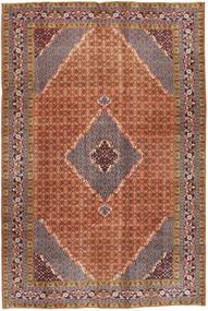 Ardabil Tapis 195X292 D'orient Fait Main Marron Foncé/Rouge (Laine, Perse/Iran)