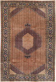 Ardebil Rug 200X292 Authentic  Oriental Handknotted Light Brown/Brown (Wool, Persia/Iran)