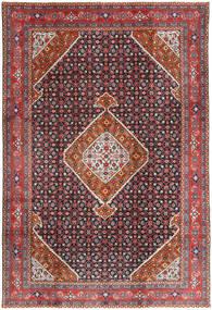 Ardebil Teppe 197X293 Ekte Orientalsk Håndknyttet Mørk Rød/Mørk Lilla (Ull, Persia/Iran)