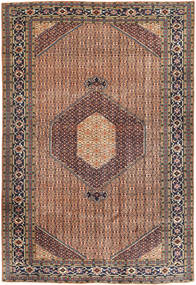Ardebil Rug 200X295 Authentic  Oriental Handknotted Light Brown/Brown (Wool, Persia/Iran)