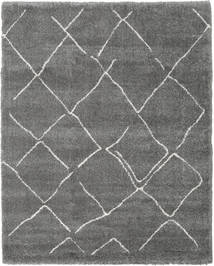 Shaggy Agadir - Grey/Off White Rug 240X300 Modern Dark Grey/Light Grey ( Turkey)