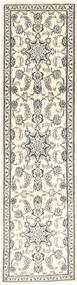 Nain Alfombra 74X300 Oriental Hecha A Mano Beige/Gris Claro (Lana, Persia/Irán)