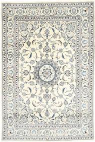 Nain Matto 197X301 Itämainen Käsinsolmittu Beige/Vaaleanharmaa (Villa, Persia/Iran)