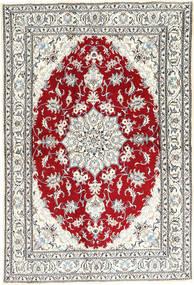 Nain Covor 162X238 Orientale Lucrat Manual Bej/Gri Deschis (Lână, Persia/Iran)