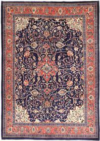 Mahal Matto 241X345 Itämainen Käsinsolmittu Tummanvioletti/Vaaleanharmaa (Villa, Persia/Iran)