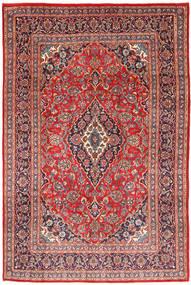 Keshan Rug 202X301 Authentic  Oriental Handknotted Dark Red/Light Brown (Wool, Persia/Iran)