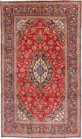 Keszan Dywan 190X324 Orientalny Tkany Ręcznie Ciemnoczerwony/Rdzawy/Czerwony (Wełna, Persja/Iran)