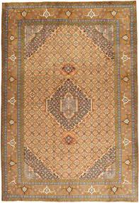 Ardebil Matto 200X292 Itämainen Käsinsolmittu Vaaleanruskea/Ruskea (Villa, Persia/Iran)