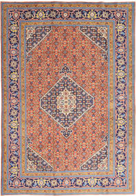 Ardebil Rug 200X297 Authentic  Oriental Handknotted Purple/Orange (Wool, Persia/Iran)