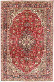 Tabriz Rug 199X300 Authentic  Oriental Handknotted Light Brown/Dark Red (Wool, Persia/Iran)
