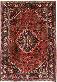 Bakhtiari Rug 208X300 Authentic  Oriental Handknotted Dark Red/Black (Wool, Persia/Iran)